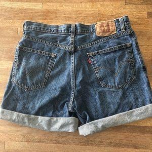 Levi's 550 vintage denim shorts 33